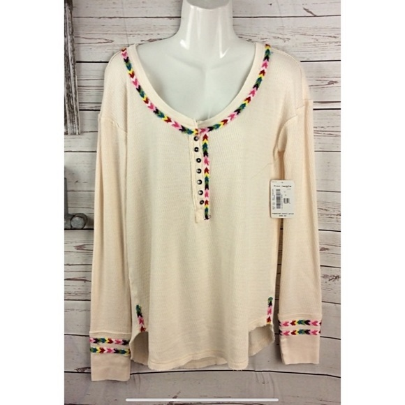 Free People Tops - we the free by free people oversize therma…